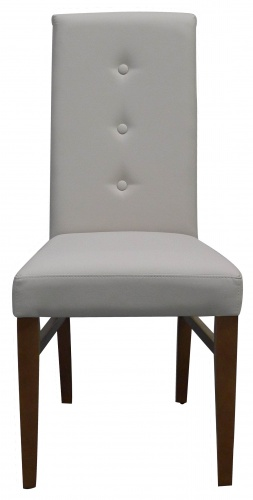PARIS BUTTON BACK Contemporary High Back Dining Chair