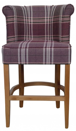 JELL BAR  Chic Curve Back Barstool