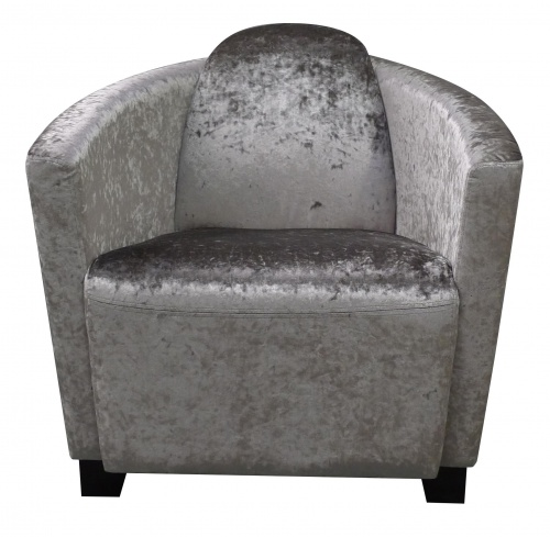 BROCKTON Contemporary Curve Back Tub Chair