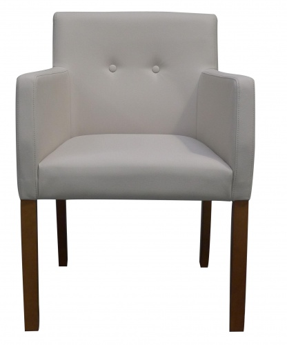 HARVARD BUTTON BACK Modern Refined Armchair