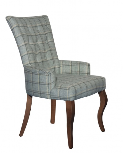 SALISBURY Impressive Button Back Occasional Chair