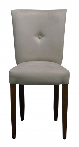 MONACO PETITE BUTTON BACK Chic Compact Dining Chair