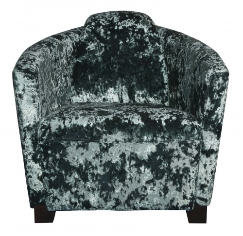 BROCKTON Contemporary Curve Back Tub Chair