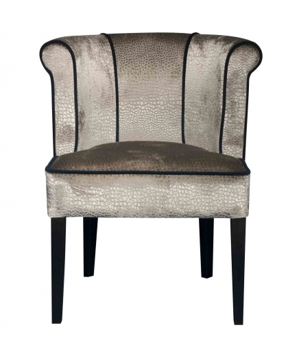 JELL Chic Curved Back Occasional Chair