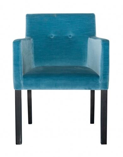 HARVARD BUTTON BACK Modern Refined Armchair