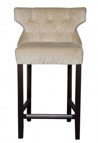 ADONIS BAR  Stylish Deep Buttoned Barstool
