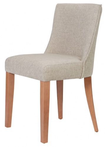 MILANO PETITE Chic Curved Back Dining Chair