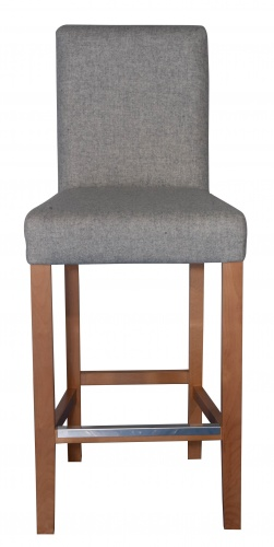HOUSTON BAR Classic High Back Bar Stool