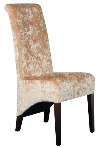 SELBOURNE BUTTON BACK Modern Rollback Dining Chair