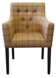 SOHO Luxury Button Back Arm Chair