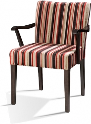 WITNEY ARM Graceful Low Back Arm Chair